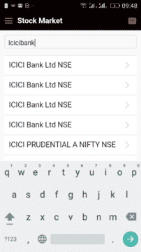 Stockamj Mobile Application